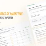 Con esta plantilla podrás medir los indicadores de marketing digital más comunes